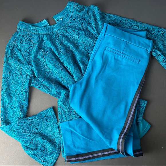 Old Navy Pants - Turquoise Old Navy Pixie pants